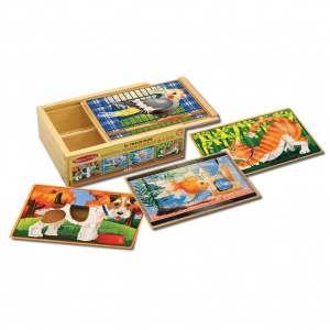 puzzle animali