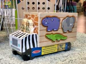 camion animali kaki